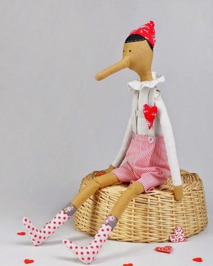 Выкройки кукол Тильда